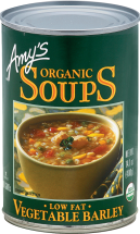 Organic Low Fat Vegetable Barley Soup product image.