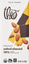 Organic 70%Dark Chocolate Bar product image.