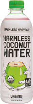 A refreshing and organic coconut water made from sustainable practices. product image.