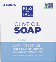Pure Olive Oil Bar Soap product image.