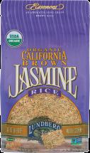 100% Organic Brown Jasmine Rice product image.