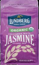 100% Organic Jasmine White Rice product image.