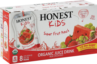 Honest Kids Organic Kids Juice Drinks 8/6.75FZ product image.