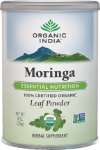 Organic Moringa Leaf Powder product image.