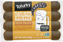 Meatless Beer Brats product image.