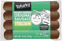 Meatless Italian Sausage product image.