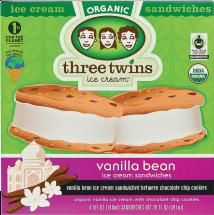Organic Ice Cream Sandwich product image.