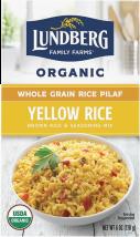 Organic Whole Grain Rice & Seasoning Mix product image.