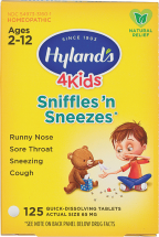 Kid's Homeopathic Cold Medicine product image.