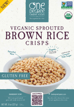 Organic Veganic Sprouted Crisps Cereal product image.