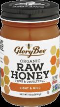 100% Organic Raw Honey product image.