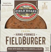 Vegan FieldBurger product image.