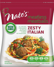 Meatless Meatballs product image.