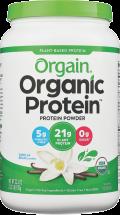 Organic Plant Based Protein Powder product image.