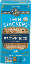 Organic Brown Rice Cakes product image.