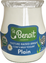 Organic Jersey Cow Milk Yogurt product image.