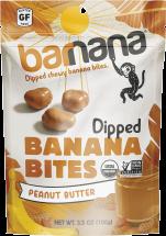 Organic Chewy Banana Bites product image.