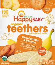 Organic Gentle Teething Wafers product image.