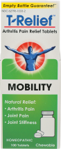 Mobility Arthritis Pain Relief Tablets product image.