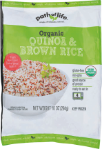 Organic Rice Pouch product image.