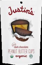 Organic Mini Peanut Butter Cups product image.