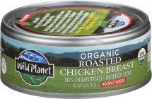 Organic Roasted Chicken Breast product image.