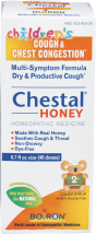 Boiron Cough Syrup Children's Chestal Honey 6.7 FL OZ product image.
