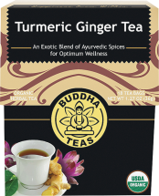 100% Organic Herbal Tea product image.