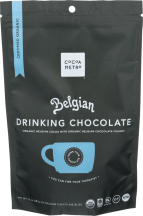 Organic Belgian Drinking Chocolate product image.