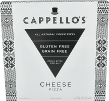 Cappello's Gluten-Free Cheese Pizza 16 OZ product image.