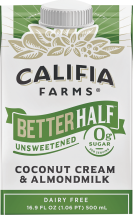 Better Half Coconut Cream & Almondmilk product image.