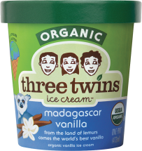 Made with organic cream and milk. product image.