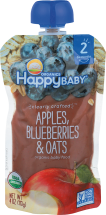 Happy Baby Organic Stage 2 Baby Food All Flavors 4 OZ product image.