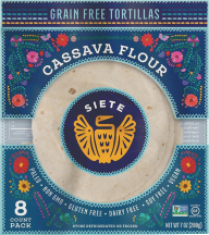 Tortilla,CassavaCNut,8 Ct product image.