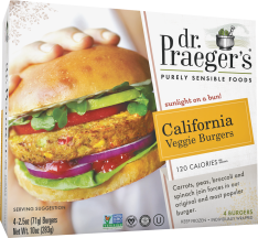 Veggie Burgers product image.