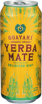 Guayaki's Enlighten Mint is a flavorful tribute to the Ache Guayaki and their legendary beverage. product image.
