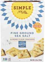Simple Mills Crackers Almond Flour 4.25 OZ All Varieties product image.