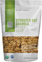 Organic Sprouted Oat Granola product image.