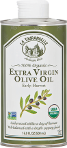 Cold-pressed Picual olives, harvested early in the season and processed on-site the same day. product image.