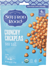 Organic Crunchy Chickpeas product image.