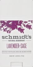 Schmidt's Deodorant Deodorant Lavender + Sage, Rose Vanilla & Cedarwood + Juniper 3.25 OZ product image.