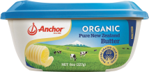 Made from pure organic cream and a touch of salt without any harmful additives. product image.