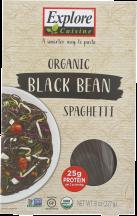 100% Organic Black Bean Pasta product image.