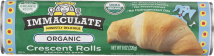 First all natural crescent rolls, light, flaky and delicious. Each canister bakes 8 rolls. product image.