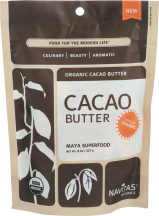 100% Organic Cacao Butter product image.