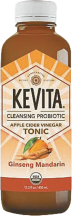 This tonic features orange blossoms with ginseng, and also contains apple cider vinegar and billions of live probiotics. product image.