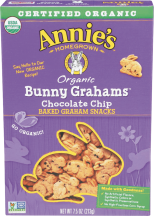 Organic Baked Bunny Graham Snacks product image.
