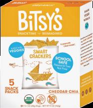 Organic Smart Cracker Snack Packs product image.