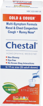 Chestal Adult Cough Syrup product image.