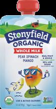 Organic Whole Milk Yogurt Pouch product image.